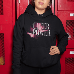 Cheerleader Hoodie Cheer Power