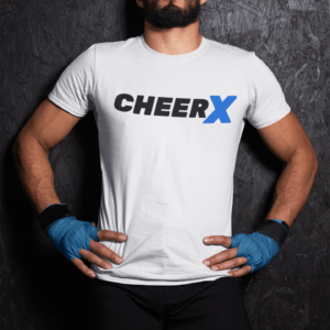 CheerX T-Shirt Herren weiss