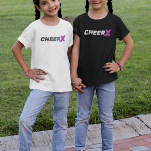 Kinder Tshirt Cheerleader